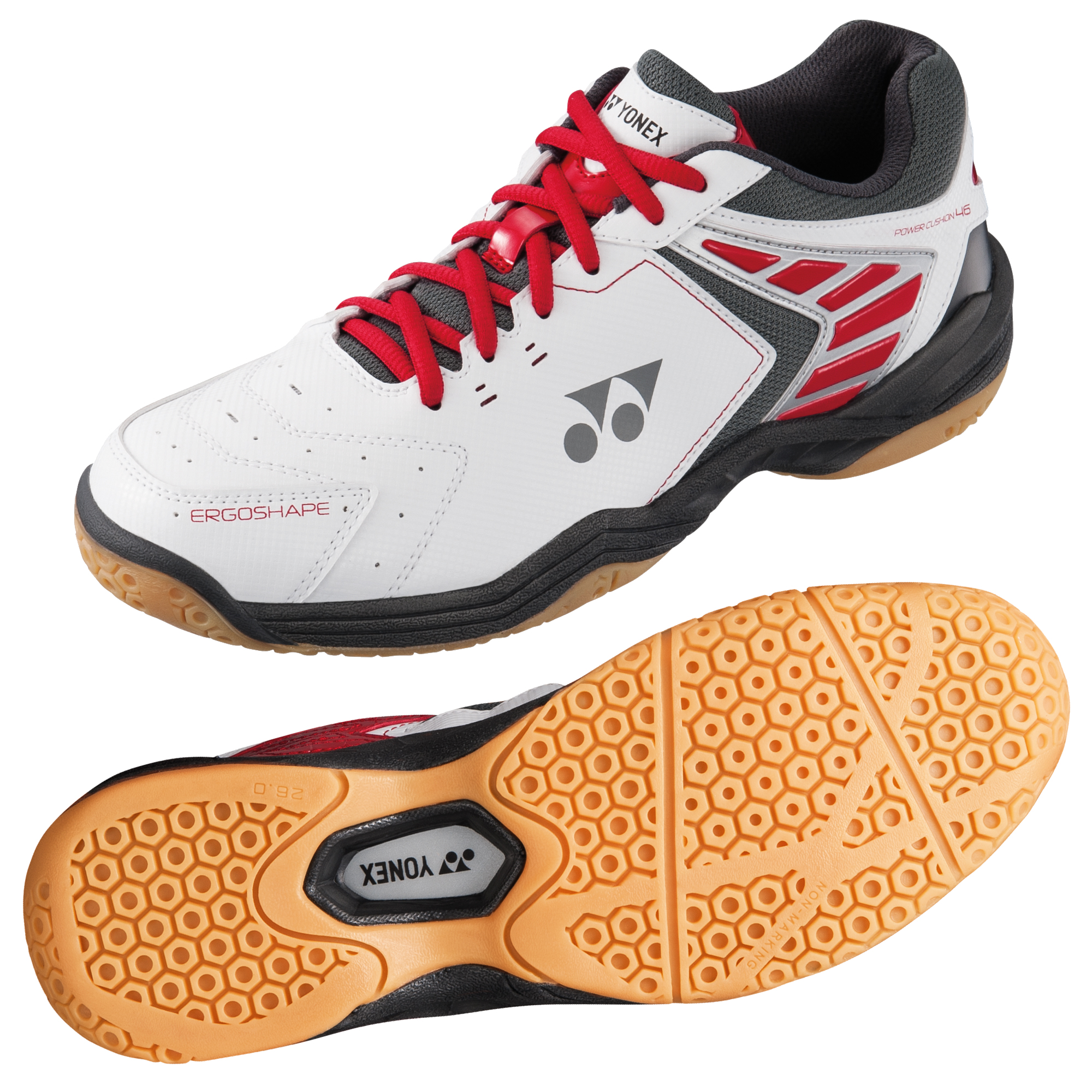 Yonex Power Cushion 46 Mens Badminton Shoes  10.5 UK