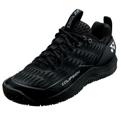 Yonex Power Cushion Eclipsion 3 Mens Tennis Shoes - BlackSilver