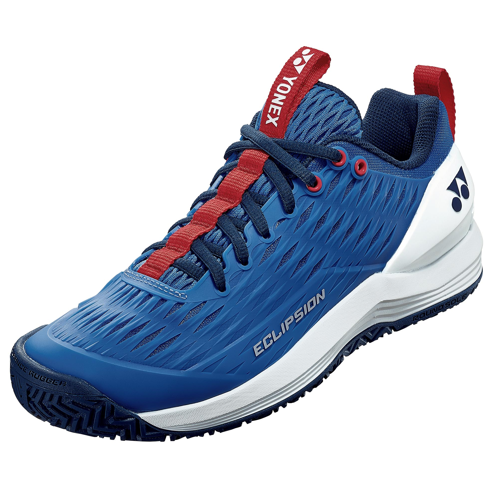 Yonex Power Cushion Eclipsion 3 Mens Tennis Shoes - Blue/White, 7.5 UK