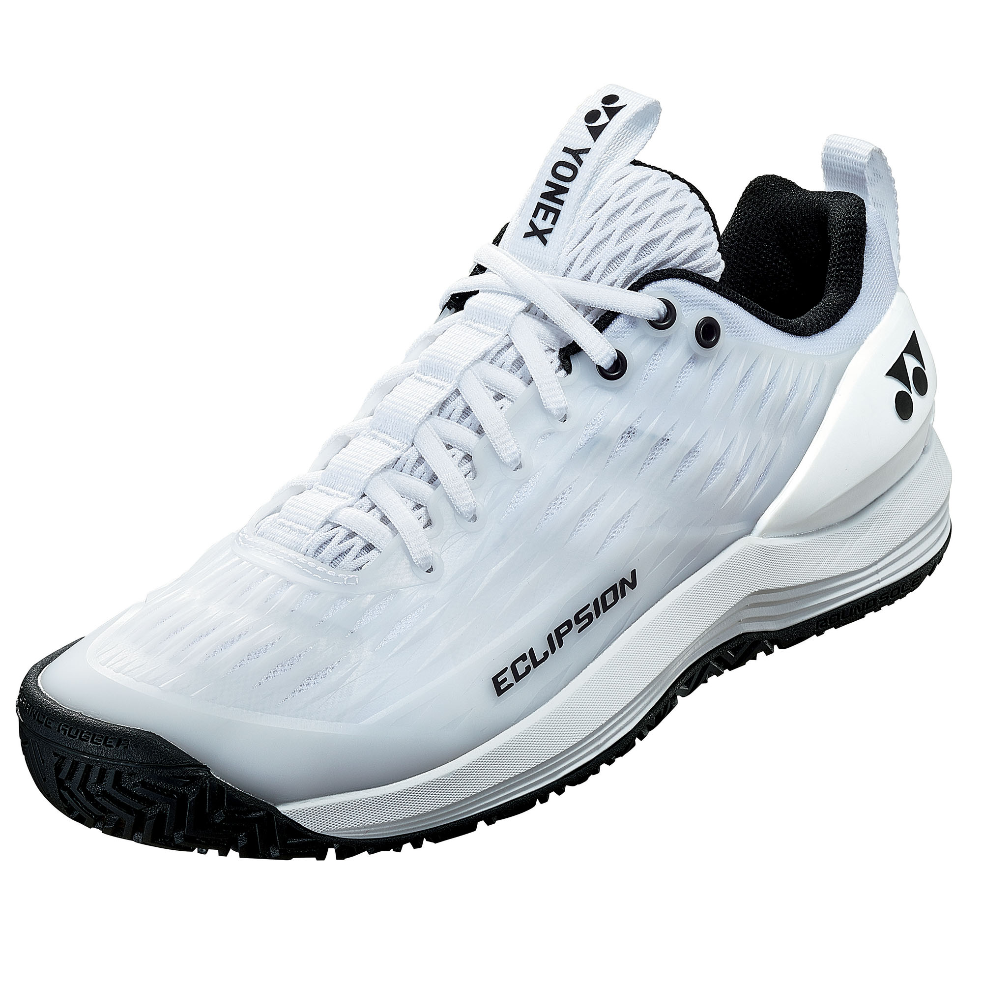 Yonex Power Cushion Eclipsion 3 Mens Tennis Shoes - White, 9 UK