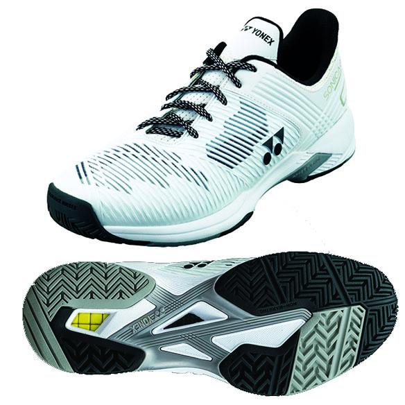 Yonex Power Cushion Sonicage 2 Wide Tennis Shoes - 5.5 UK