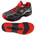 Yonex SHT Power Cushion Cefiro Mens Tennis Shoes - GreyRed