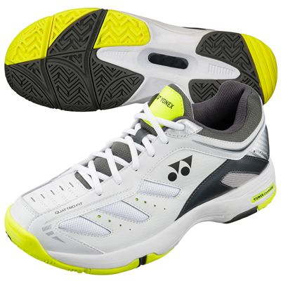 Yonex SHT Power Cushion Cefiro Mens Tennis Shoes-White