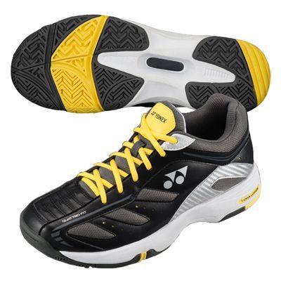 Yonex SHT Power Cushion Cefiro Tennis Shoes-Black