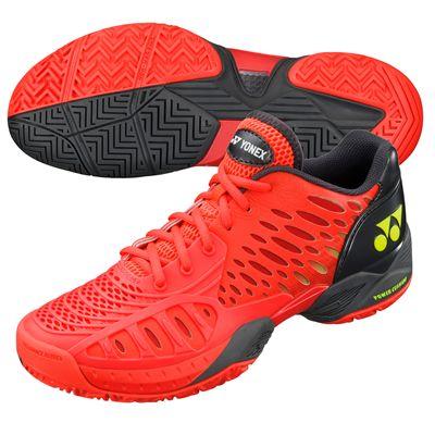 Yonex SHT Power Cushion Eclipsion Tennis Shoes-Red