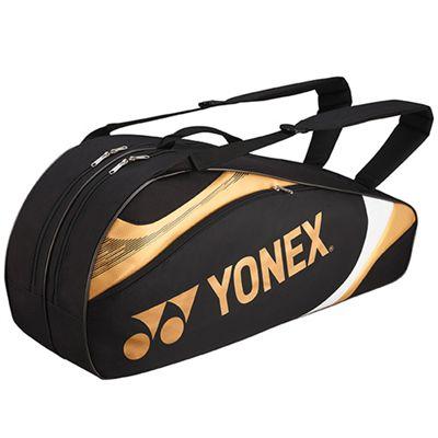 Yonex Tournament Basic 6 Racket Bag - Black Gold