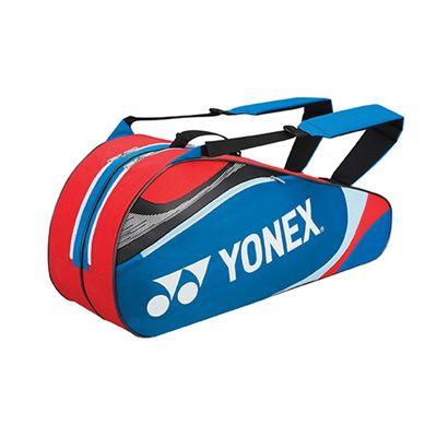 Yonex Tournament Basic 6 Racket Bag - Blue Red