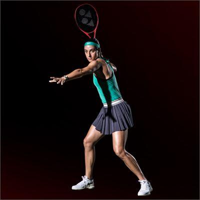 Yonex VCORE 100 G Tennis Racket - In Use1