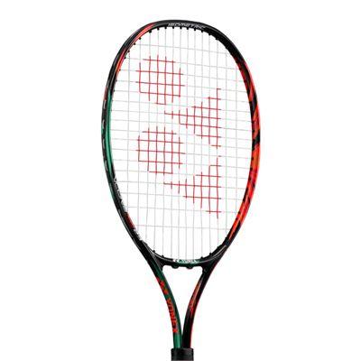 Yonex VCORE 23 Junior Tennis Racket-3/4 Cover-Black/Orange