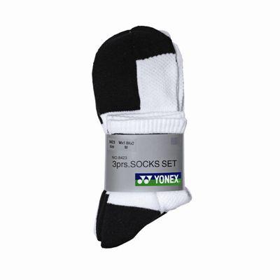 Yonex W-8423 Socks 3 Pack