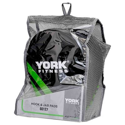 York Curved Hook and Jab Pads - Packaging