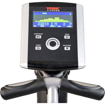 York Excel 320 Front Drive Cross Trainer - Console