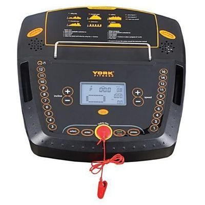 York Fitness T300 Treadmill Console