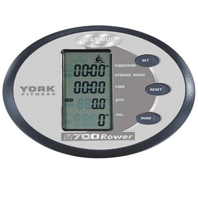 York R700 Platinum Rowing Machine Console