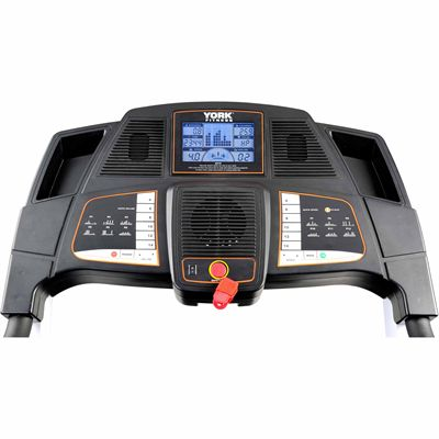 York Perform 210 Treadmill - Console