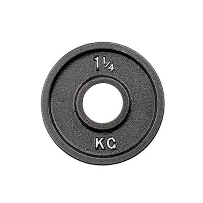 York 1.25kg Olympic Cast Plate (CAN)