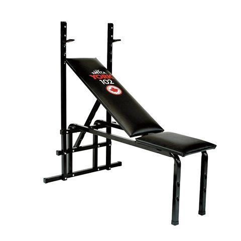 York 102 Weight Bench