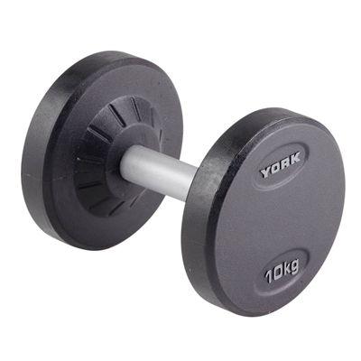 York 10kg Pro-Style Dumbbell