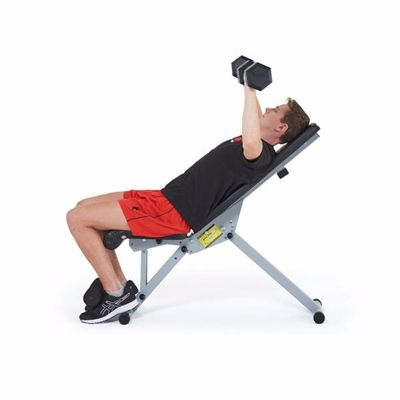 York 13-in-1 Utility Workout bench - In Use2