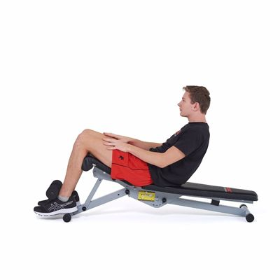 York 13-in-1 Utility Workout bench - In Use4