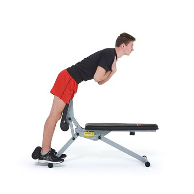 York 13-in-1 Utility Workout bench - In Use5