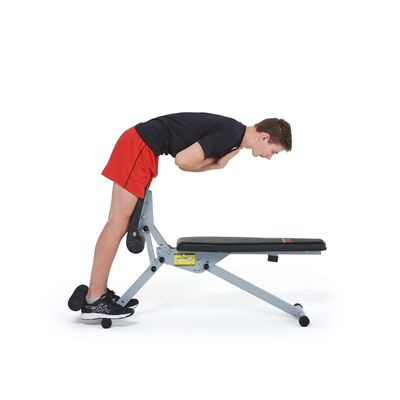 York 13-in-1 Utility Workout bench - In Use6