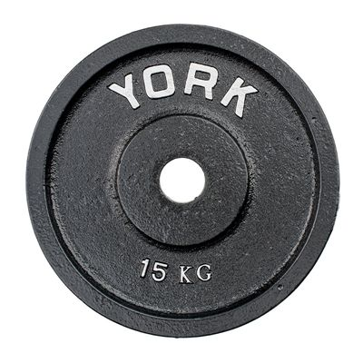 York 15kg Olympic Cast Plate
