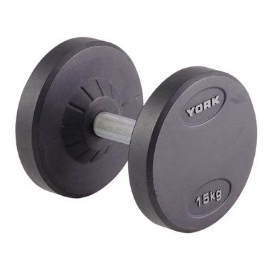York 15kg Pro-Style Dumbbell