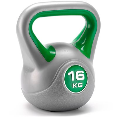 16 kg Vinyl Kettlebell from York