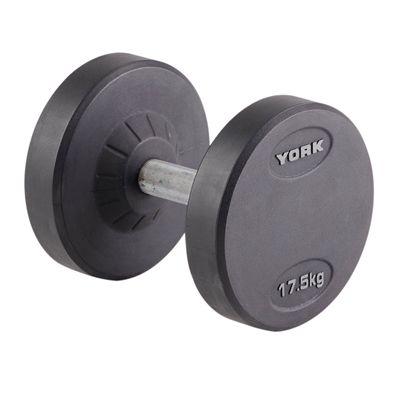 York 17.5kg Pro-Style Dumbbell