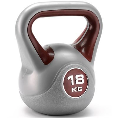 18 kg Vinyl Kettlebell from York
