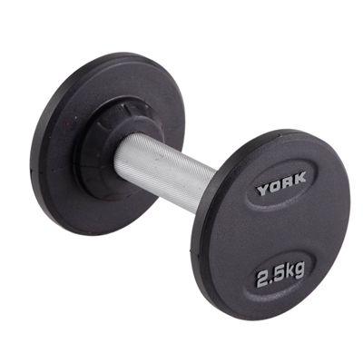 York 2.5kg Pro-Style Dumbbell