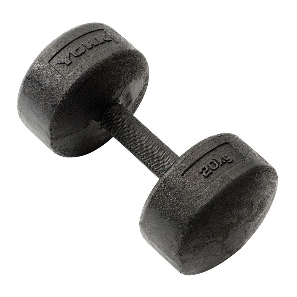 Dumbbells For Sale >> York 20kg Legacy Dumbbell - Sweatband.com
