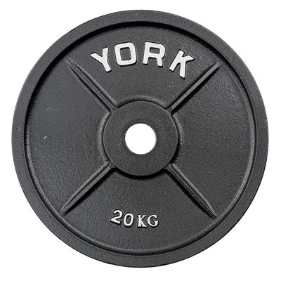 York 20kg Olympic Cast Plate
