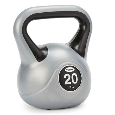 20 kg Vinyl Kettlebell from York