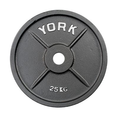 York 25kg Olympic Cast Plate