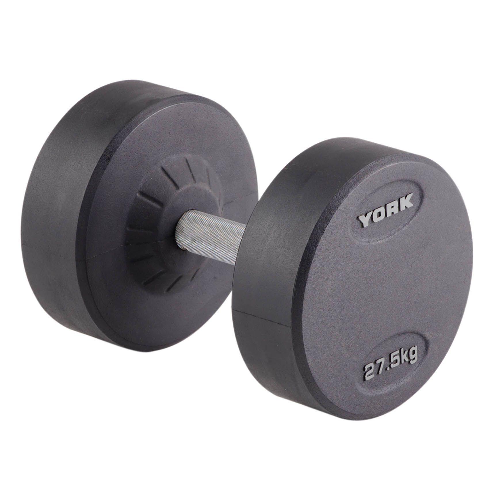 York 27.5kg Pro-Style Dumbbell