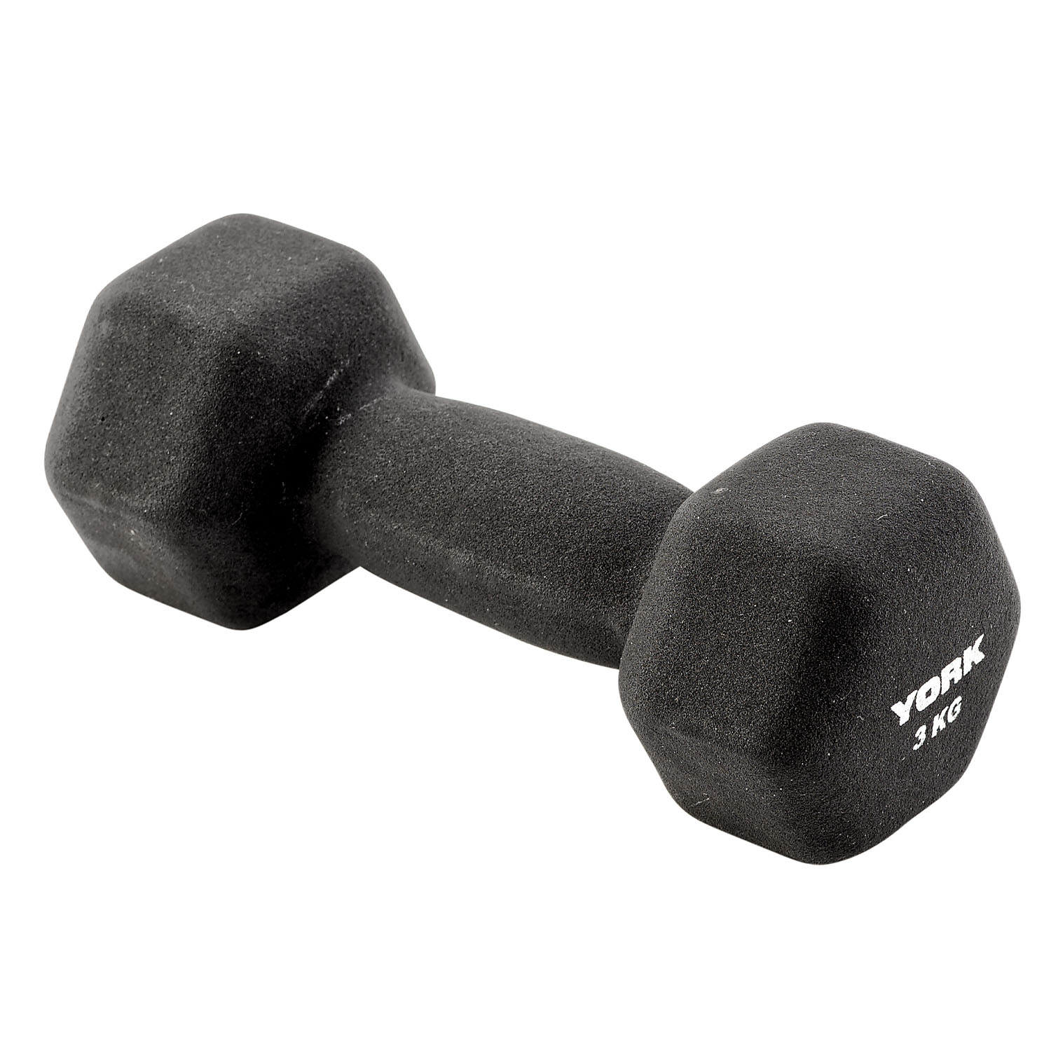 York 3kg Neo Hex Dumbbell