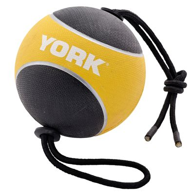 York 4kg Medicine Ball with Rope Image