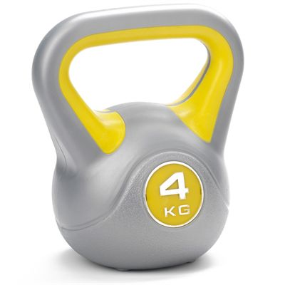 4 kg Vinyl Kettlebell from York