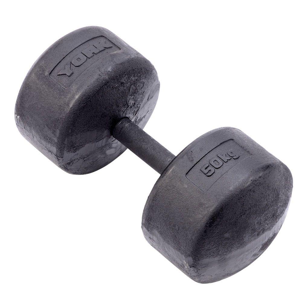 Dumbbells For Sale >> York 50kg Legacy Dumbbell - Sweatband.com