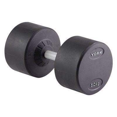 York 50kg Pro-Style Dumbbell