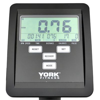 York Active 110 Cross Trainer - Console