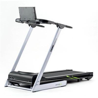 York Active 115 Folding Treadmill - Back