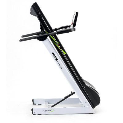 York Active 115 Folding Treadmill - Folded