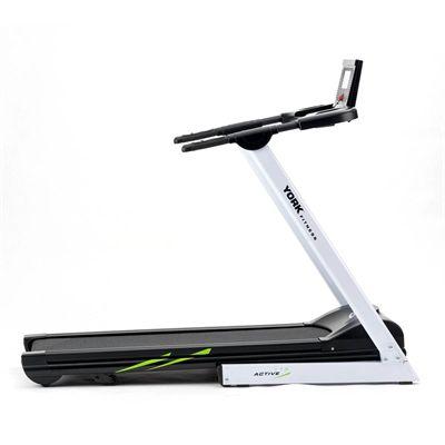 York Active 115 Folding Treadmill - Side
