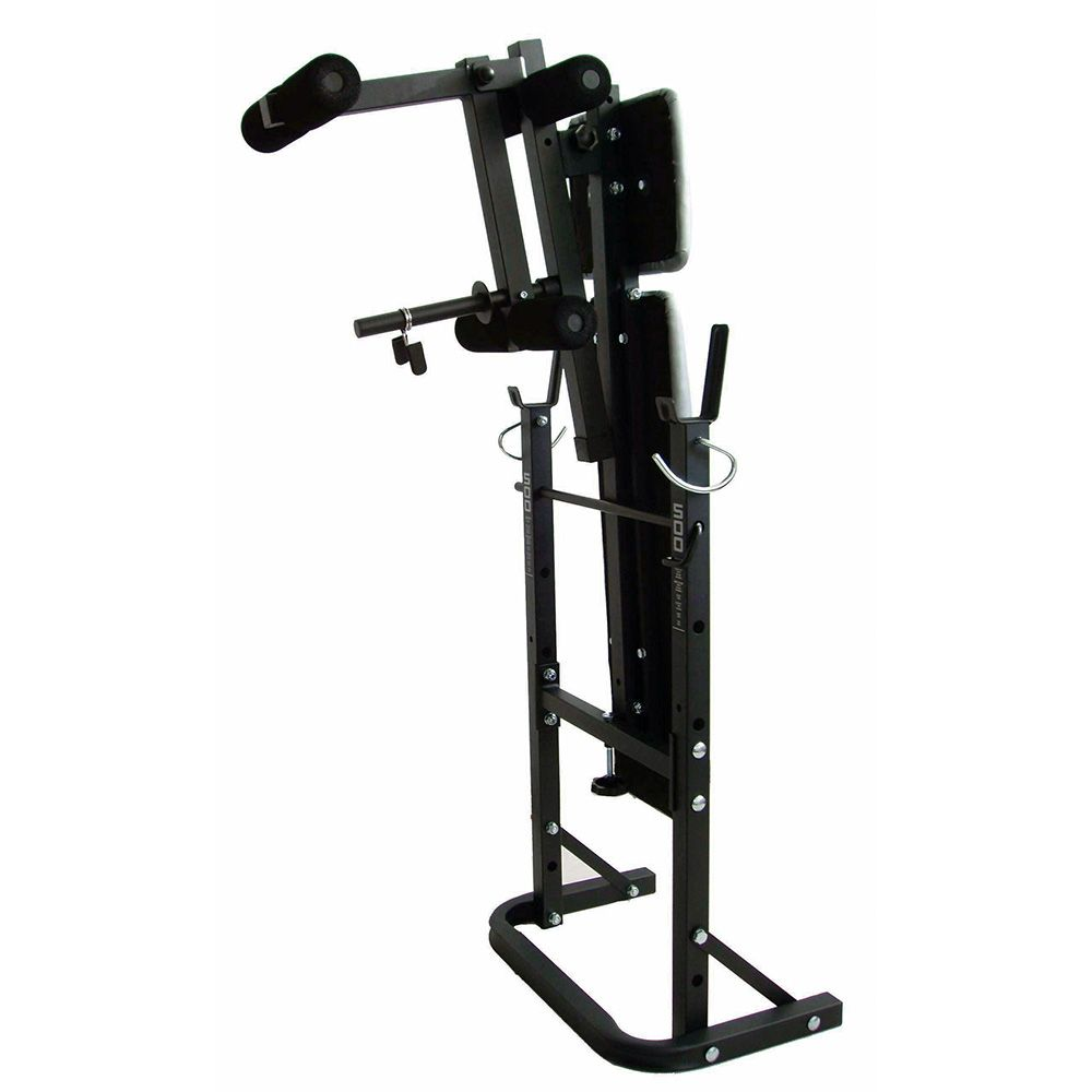 York b500 weight bench with 50kg cast iron weight set Bench and weight set