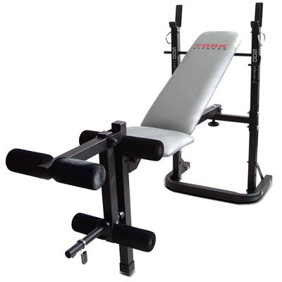 York B500 Weight Bench Front View