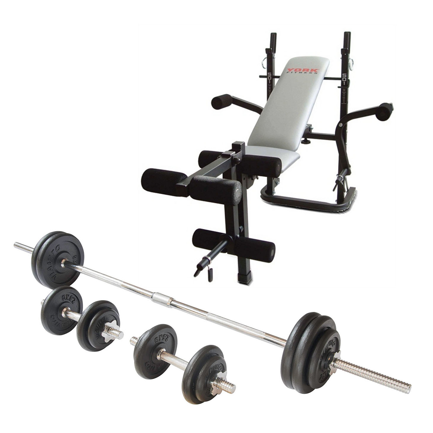 Buy cheap chrome dumbbell set compare weight training prices for best uk deals Bench and weight set