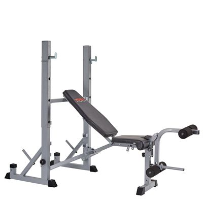 York B540 2 in 1 Weight Bench - Angle